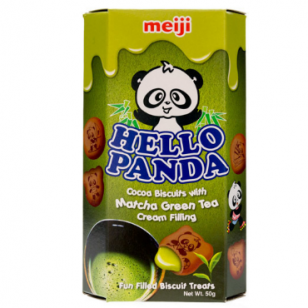 Sausainiai HELLO PANDA ( MATCHA SK. ĮDARAS) 50g