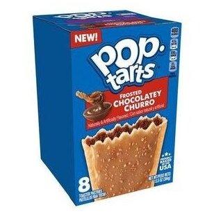 Sausainiai POP TARTS Chocolatey Churro 384g