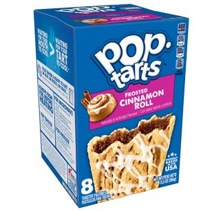 Sausainiai POP TARTS Cinnamon Roll 384g