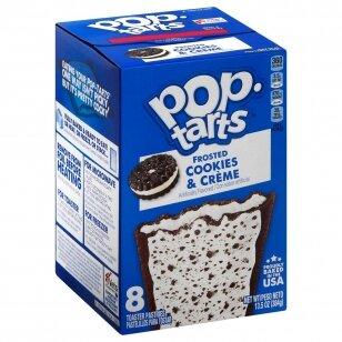 Sausainiai POP TARTS ( COOKIES & CREAM ) 396g