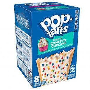 Sausainiai POP TARTS Frosted Confetti Cupcake 384g