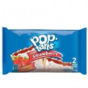 Sausainiai POP TARTS (FROSTED STRAWBERRY)