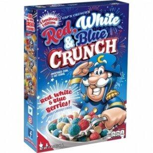 Sausi pusryčiai CAP'N CRUNC Red White & Blue 327g