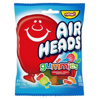 Saldainiai AIRHEADS Gummies 108g