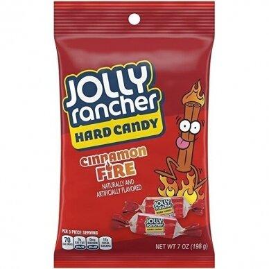 Saldainiai Jolly Rancher Cinnamon Fire 198g