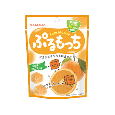 Saldainiai PURU MOCCHI (apelsinų sk.) 42g