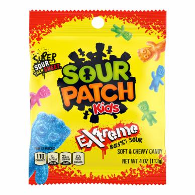 Saldainiai SOUR PATCH Kids Exteme 113g