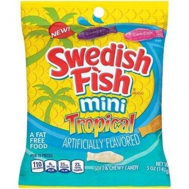 Saldainiai SWEDISH FISH Tropical 226g