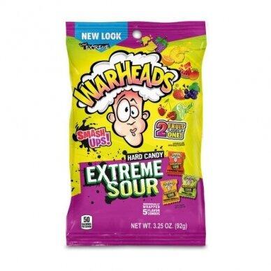 Saldainiai WARHEADS Extreme Sour Smash-Ups 92g