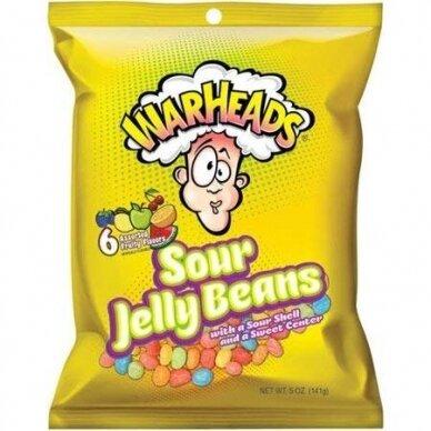 Saldainiai WARHEADS Sour Jelly Beans 142g