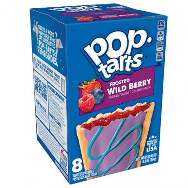 Sausainiai POP TARTS Frosted Wild Berry 384g
