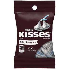 Šokoladiniai saldainiai HERSHEY'S KISSES 43g