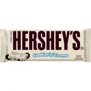 Šokoladas HERSHEY'S (COOKIE' N' CREAM) 43g.