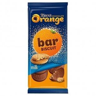 Šokoladas TERRYS Orange Biscuit tablet 90g