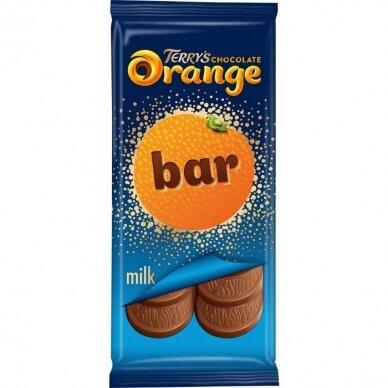 Šokoladas TERRYS ORANGE 90g