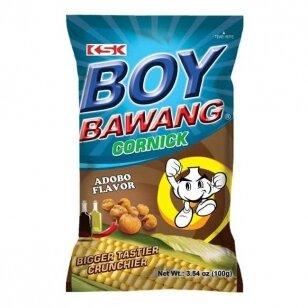 Spraginti kukurūzai BOY BAWANG ( Adobo) 100g