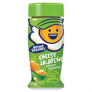 Spragintų kukurūzų prieskoniai KERNEL Season's Cheesy Jalapeno 80g