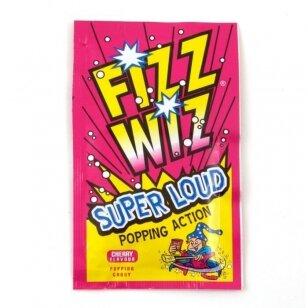Sproginėjantys saldainiai FIZZ WIZZ Cherry 4,9g