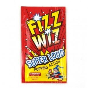 Sproginėjantys saldainiai FIZZ WIZZ Strawberry  4,9g