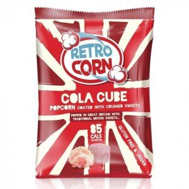 Kukurūzų spragėsiai  RETROCORN Cola Cube 35g