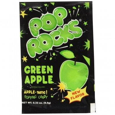Sproginėjantys saldainiai POP ROCKS Apple ( obuolių sk.) 9g