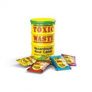 Saldainiai Toxic Waste Sour Yellow Drum 42g