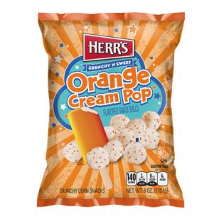 Traškučiai HERR'S Orange Cream Pop Balls 170g