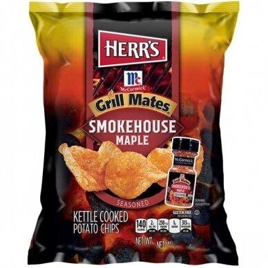 Traškučiai HERR'S Grill Mates Smokehouse Maple 184g