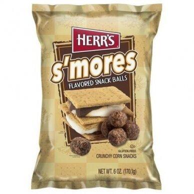 Traškučiai HERR'S S'mores snack balls 170g