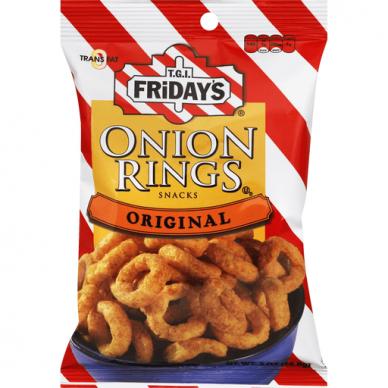 Traškučiai TGI FRIDAYS Onion Rings 78g
