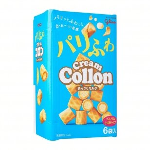 Vafliukai GLICO Cream Collon Assari Milk 81g
