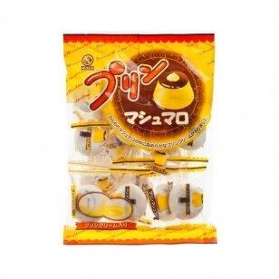 Japoniški zefyrai su įdaru Pudding Marshmarrow 110g