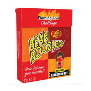 Želė pupelės JELLY BELLY (BEAN BOOZLED FLAMING FIVE), 45g
