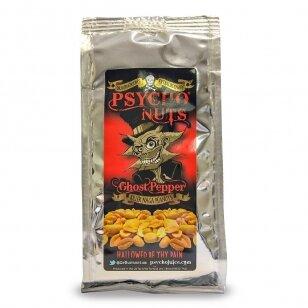 Žemės riešutai PSYCHO NUTS Ghost Pepper 80g